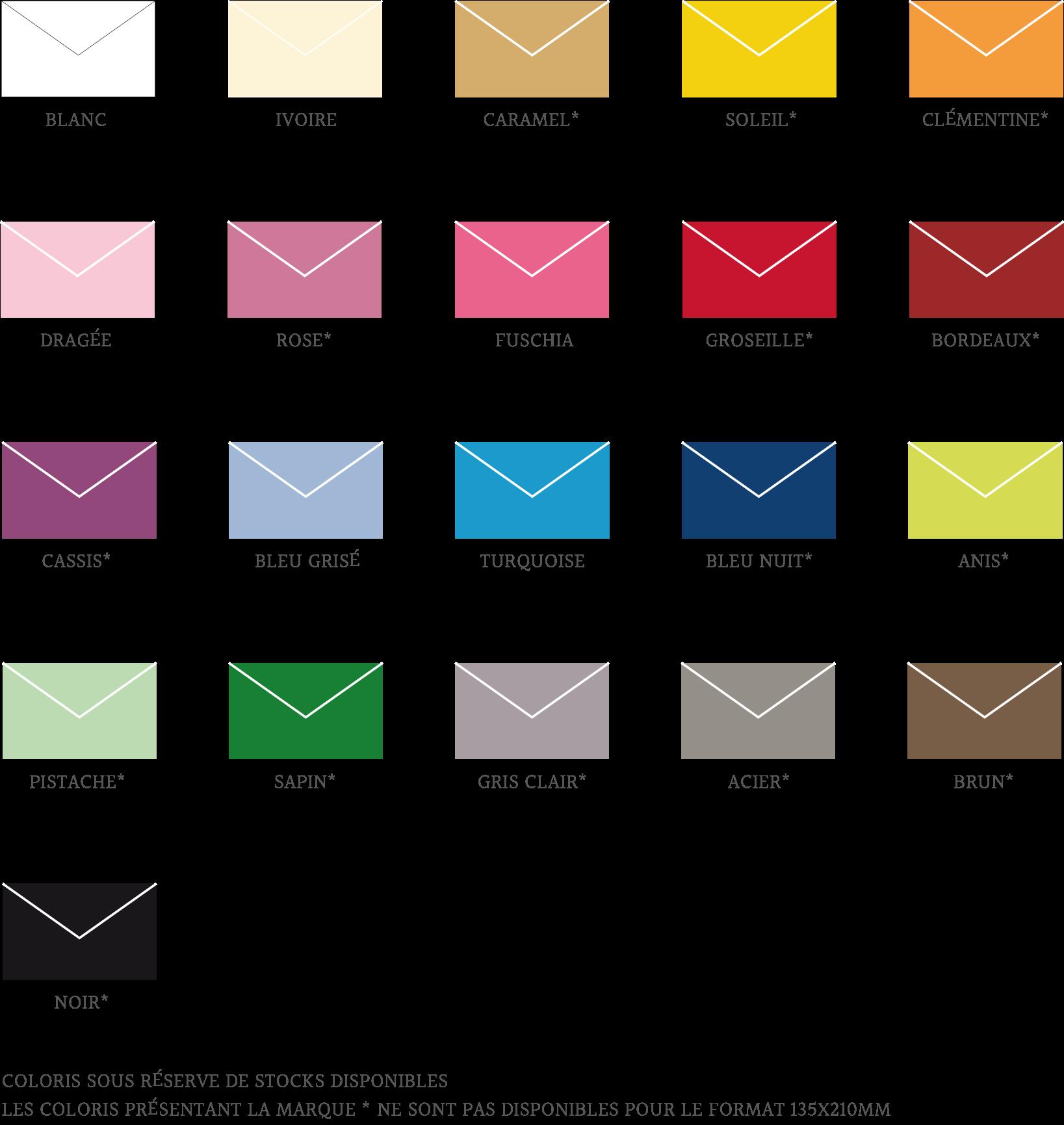 gamme enveloppes